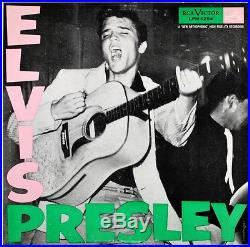 ELVIS PRESLEY ORIGINAL 1956 1st PALE PINK DG PRESS LPM 1254 MINT-