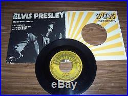 Elvis Presley Original Sun Record # 223 Mystery Train + Bonus 2 Sun Sleeves