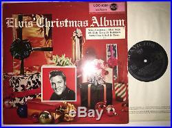 ELVIS PRESLEY Orig. 1ED D RCA LOC-1035 SCHWARZES LABEL Sehr Rare LP