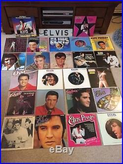 ELVIS PRESLEY Over 120 x LP Vinyl Record Collection Album JOBLOT BUNdle +