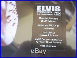 ELVIS PRESLEY PROMISED LAND COMPANION ALBUM FTD 2012 12 INCH 180 g VINYL sealed