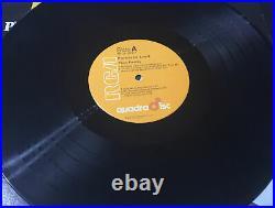 ELVIS PRESLEY PROMISED LAND RCA 1975 Orange QUAD / Direct From Memphis