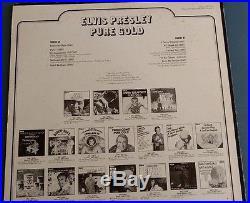 ELVIS PRESLEY PURE GOLD ORIGINAL ORANGE LABEL ANL1-0971(e) ROCK & ROLL