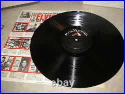 ELVIS PRESLEY Promo Vinyl Lp FRANKIE AND JOHNNY 1966 RCA Shrink & Stkr NM Rare