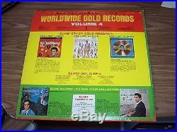 ELVIS PRESLEY RARE SCARCE ORIGINAL ALBUM LPM 3921 ELVIS' GOLD RECORDS VOL. 4
