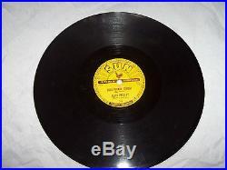 Elvis Presley Rarest Of The Rare Original Sun 78 RPM Record Good Rockin Tonight