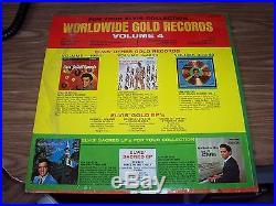 ELVIS PRESLEY RAREST OF THE RARE RECORD ALBUM LPM 3921 ELVIS' GOLD RECORDS VOL. 4