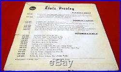 Elvis Presley Rca Italiana 45n 0612 All Shook Up Moon Cover (mega Rare)