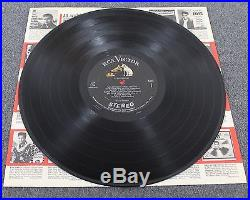 ELVIS PRESLEY RCA LSP-1254(e) Silver Label Staggered Stereo In Shrink LP EX