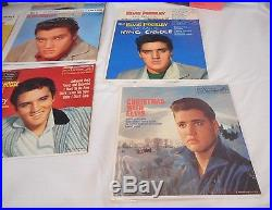 ELVIS PRESLEY RCA Victor 45 RPM / EP Records Lot of 12 in Orig Picture Sleeves
