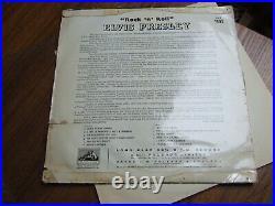 ELVIS PRESLEY ROCK'N' ROLL -UK 1st HMV CLP. 1093 /1956 PLAYS GREAT SEE DESCRIP
