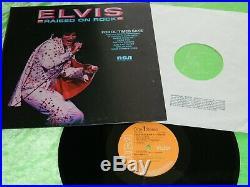 ELVIS PRESLEY Raised on rock Original 1973 UK issue LP record & sleeve 197