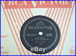 ELVIS PRESLEY Rare 78rpm on RCA #20-7410 I GOT STUNG & ONE NIGHT 1958 VG++