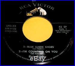 ELVIS PRESLEY Rare Orig RCA Victor SPD-23 Triple EP Set withGatefold Cover NICE