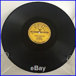 ELVIS PRESLEY Rare SUN Record 78 I Forget To Remember To Forget & Mystery Train