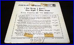 ELVIS PRESLEY Rca Italiana EPA 30-331 PRESLEY SPECIAL MEGA MEGA RARE