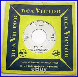 ELVIS PRESLEY Roustabout PROMO 7 SP-45-139 MINT- PROMO ONLY 45 ULTRA RARE
