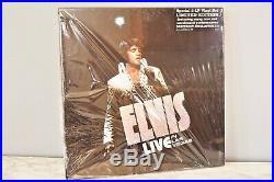 ELVIS PRESLEY SEALED Live In Las Vegas VINYL Box Set 5 LP ELVIS 108