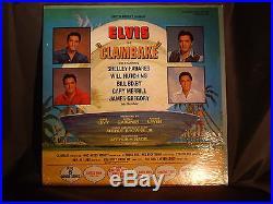 ELVIS PRESLEY SEALED Lp Clambake RCA LPM 3893 Mono Mint Sealed Stock Copy
