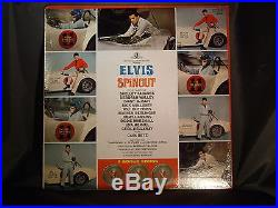 ELVIS PRESLEY SEALED Lp Spinout RCA LPM 3702 Mono Mint Sealed Stock Copy