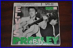 ELVIS PRESLEY SEALED RECORD 1956 SPD 22