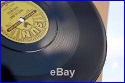 ELVIS PRESLEY SET OF 5 SUN X 10 inch 78 RPM SINGLES BLACK VINYL 2017 REPLICA A+