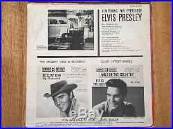 ELVIS PRESLEY SIGNED RECORD ALBUM with JSA COA Letter Authentication