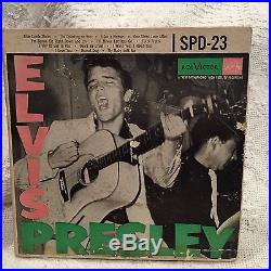 ELVIS PRESLEY SPD23 RECORD SET 1956 Very Rare 3 Record Set Not Sold in Stores