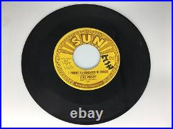 ELVIS PRESLEY SUN 223 45 I Forgot To Remember To Forget/Mystery Train