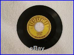 Elvis Presley Sun 45 Mystery Train