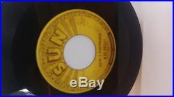Elvis Presley Sun Record. Milkcow Boogie Blues And Your A Heartbreaker
