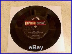 ELVIS PRESLEY SURRENDER 1961 RCA 37-7850 COMPACT 33 WithSLEEVE $2000 BK