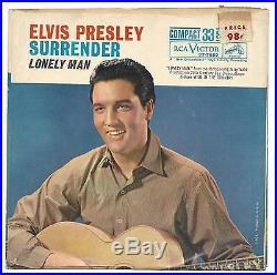ELVIS PRESLEY, SURRENDER 37-7850 COMPACT 33 NEAR-MINT
