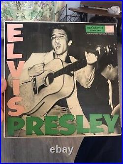 ELVIS PRESLEY Self Titled 1st LP 1956 VG++/NM- Original LPM-1254 RARE Mono