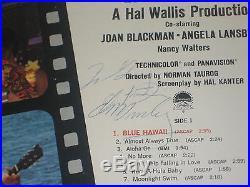 ELVIS PRESLEY Signed BLUE HAWAII Album with PSA LOA