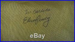 ELVIS PRESLEY Signed Boeing stewardess scarf Autographed hand signed in person