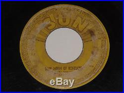 ELVIS PRESLEY THAT'S ALL RIGHT SUN-209 HIS 1st RECORD 1954 ORIG. ROCKABILLY