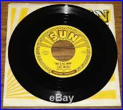 ELVIS PRESLEY THAT'S ALL RIGHT b/w BLUE MOON OF KENTUCKY USA SUN 7 1954