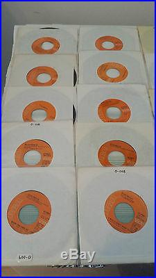 ELVIS PRESLEY THE COMPLETE ORANGE AND RED LABEL 45 RPM CANADA