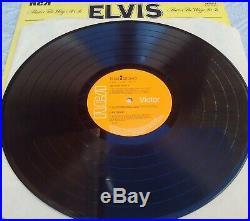 ELVIS PRESLEY That`s The Way It Is MEGA RARE UK Theater Kit LP 1971