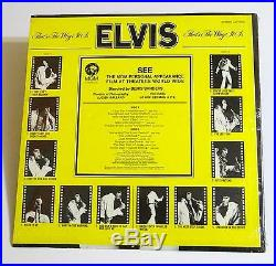 ELVIS PRESLEY That's The Way It Is Sealed Record Album RCA LSP-4445 33RPM NM/M