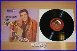 ELVIS PRESLEY The Best Of Elvis UK 10 1957 1ST PRESS LP LOVELY VINYL DLP 1159