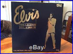 ELVIS PRESLEY The Legend, 68-70, RCA, Australia, 6lp box, OOP LP