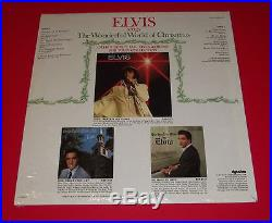 ELVIS PRESLEY WONDERFUL WORLD OF CHRISTMAS org 1971 RCA CARD BONUS SEALED PROMO