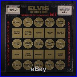 ELVIS PRESLEY Worldwide Gold Award Hits, Vol. 2 LP Sealed 4 LP box, Mono, sm