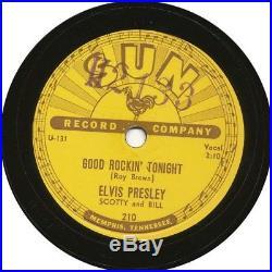 ELVIS PRESLEY all 5 original SUN 78 RPM (SUN 209 / 210 / 215 / 217 & 223)
