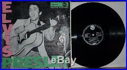 ELVIS PRESLEY deutsche RCA LPM-1254-C Elvis Presley S3 Label mit 1. LPM Cover