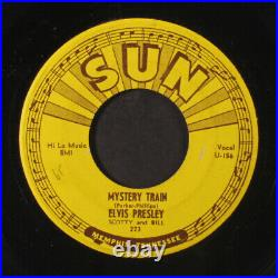 ELVIS PRESLEY mystery train / i forgot to remember to forget Sun (9) 7 Single