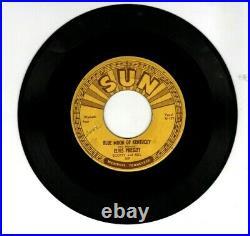 ELVIS PRESLEY on SUN RECORDS #209