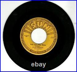 ELVIS PRESLEY on SUN RECORDS #217